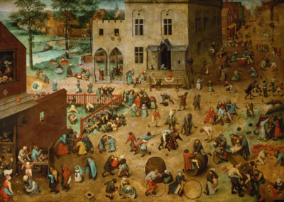 Children's Games is an oil-on-panel by Flemish Renaissance artist Pieter Bruegel the Elder, painted in 1560.