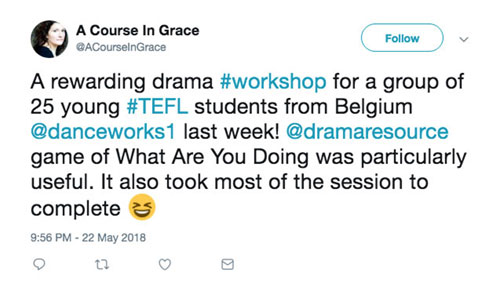 #TEFL Follow @dramaresource